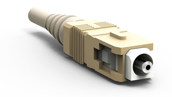 Connector, SC  POF 1 mm