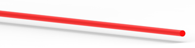 81 0087 1 mm Fluorescent Red