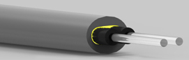 GHEV4002 Eska™ Premier PE Jacketed, PVC Sheathed Duplex Cable