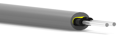 GHTT4002 Eska™ Premier PE Jacketed, PVC Sheathed Duplex Cable with Strength Member