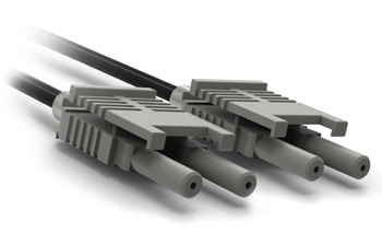 VL/VL Industrial Duplex Straight-Through Patch Cords w Duplex Connectors