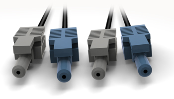 VL/VL Industrial Duplex Patch Cords w Simplex Connectors