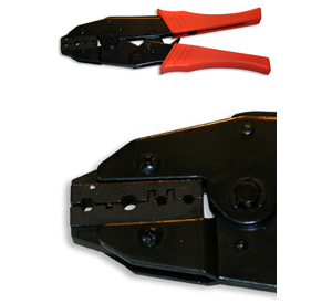 Fiber Optic Crimping Tool