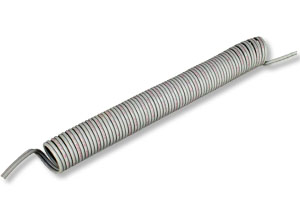 Retractile Cable, .3 to 1.25 m