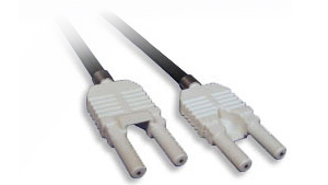 VL/VL Commercial Grade Duplex Straight-Through Patch Cords with Duplex Connectors