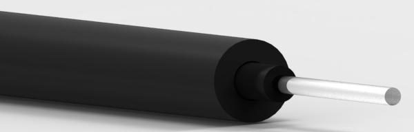 SHEV4001-5.0 Super Eska™ Polyethylene Buffered and Polyvinyl Chloride Jacketed Optical Fiber Cord